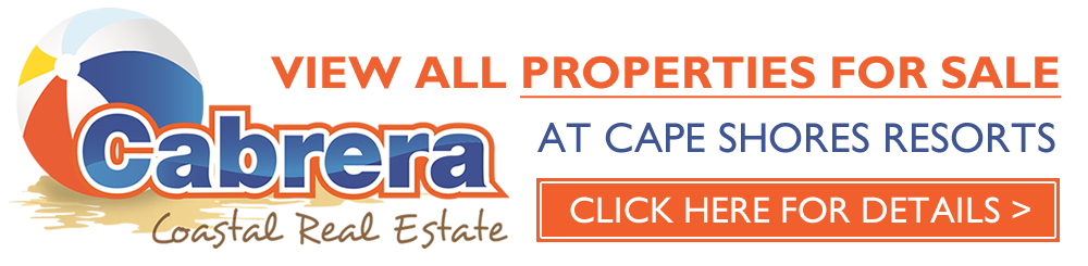 Cape Shores Resort - Properties For Sale By Cabrera Coastal Real Estate